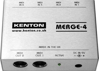 MIDIマージボックス【4/15 23:59 終了・商品ページ内に5%OFFクーポンあり】KENTON MERGE-4【150...