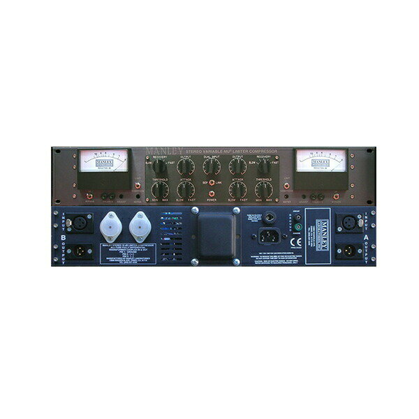 DAW・DTM・レコーダー, その他 MANLEY STEREO VARIABLE-MU LIMITER COMPRESSOR 1