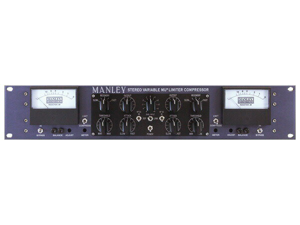 DAW・DTM・レコーダー, その他 MANLEY STEREO VARIABLE-MU COMP wMS Option MS1