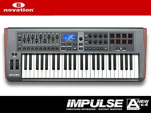 【2015年6月ジャンル賞受賞】49鍵USB/MIDIコントローラーnovation IMPULSE 49【49鍵盤】【ablet...