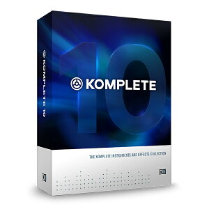 Native Instruments KOMPLETE 10【NIK10S】【数量限定特価】【…