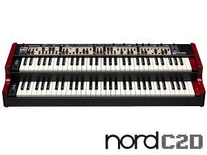 ノード2段鍵盤オルガン!CLAVIA Nord C2D 【COMBO ORGAN】 【台数限定・純正ソフトケース付!】...