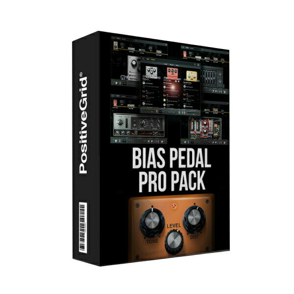 PCソフト, 音楽制作 Positive Grid BIAS Pedal Pro Pack()