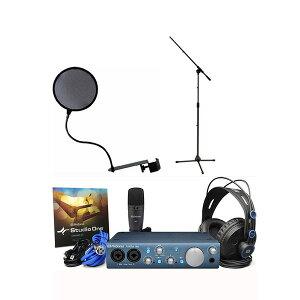 PreSonusAudioBox iTwo Studio 【スタンド&ポップガードセット】