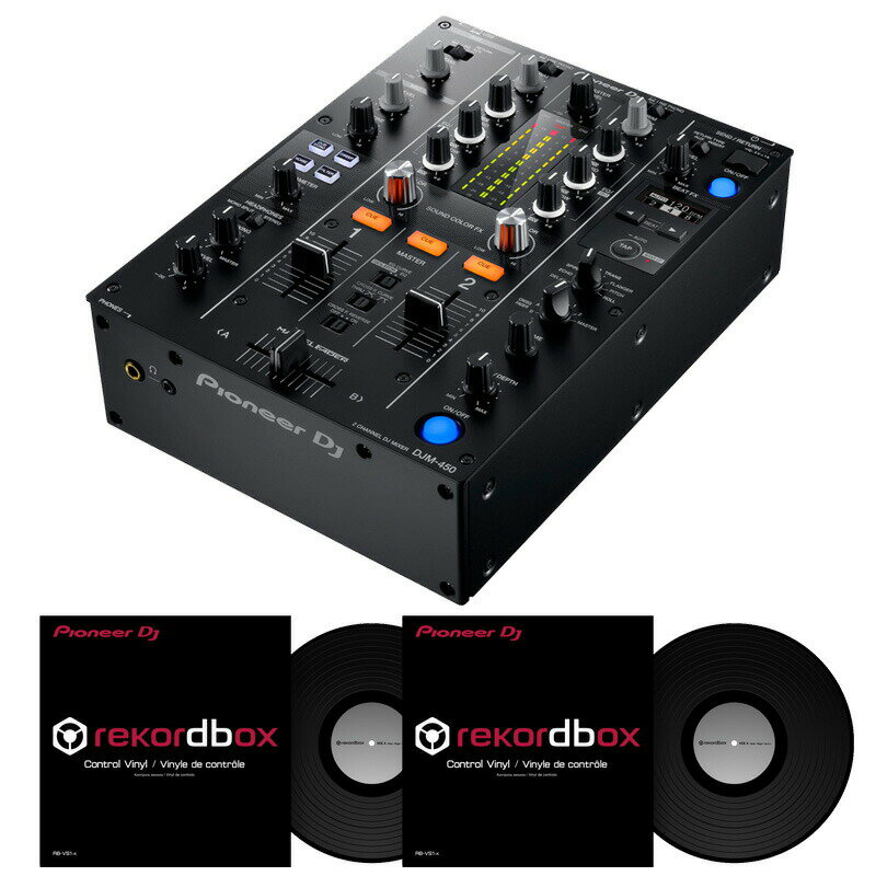 DJ機器, DJミキサー Pioneer DJ DJM-450 RB-VS1 DVS SET