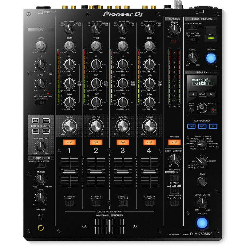 DJ機器, DJミキサー Pioneer DJ DJM-750MK2OYAIDE dUSB class B typeC (1.0m)1