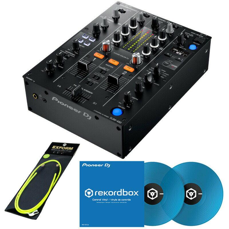 DJ機器, DJミキサー Pioneer DJ DJM-450 RB-VD1-CB DVS SET