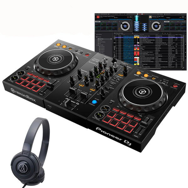 DJ機器, DJコントローラー Pioneer DJ DDJ-400 ATH-S100BK