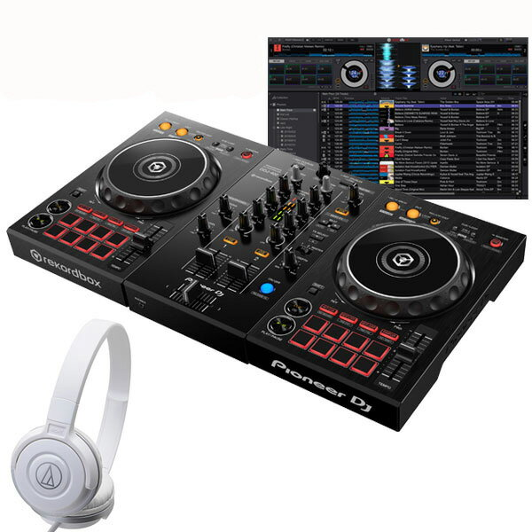 DJ機器, セット Pioneer DJ DDJ-400 ATH-S100WH