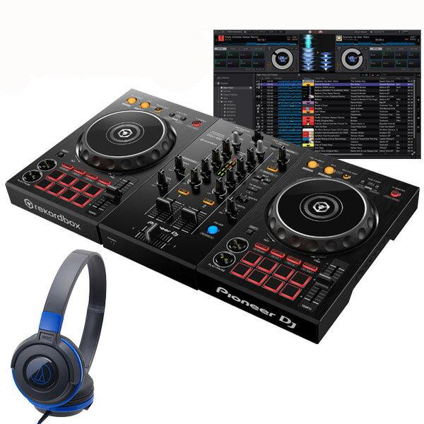 DJ機器, DJコントローラー Pioneer DJ DDJ-400 ATH-S100BBL