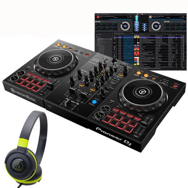 DJ機器, セット Pioneer DJ DDJ-400 ATH-S100BGR