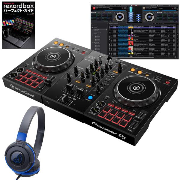 DJ機器, セット Pioneer DJ DDJ-400 ATH-S100BBL rekordbox