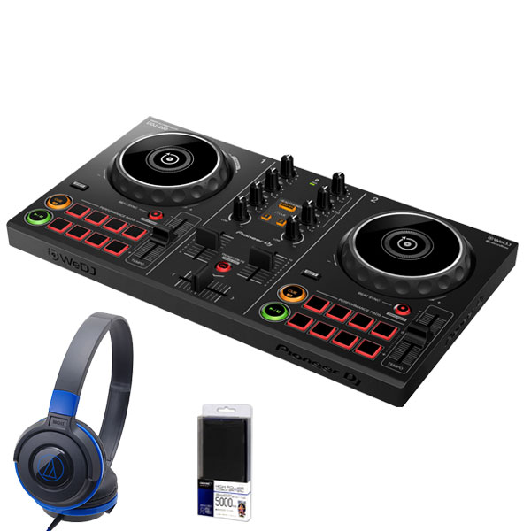 DJ機器, DJコントローラー Pioneer DJ DDJ-200 ATH-S100BBL DJ