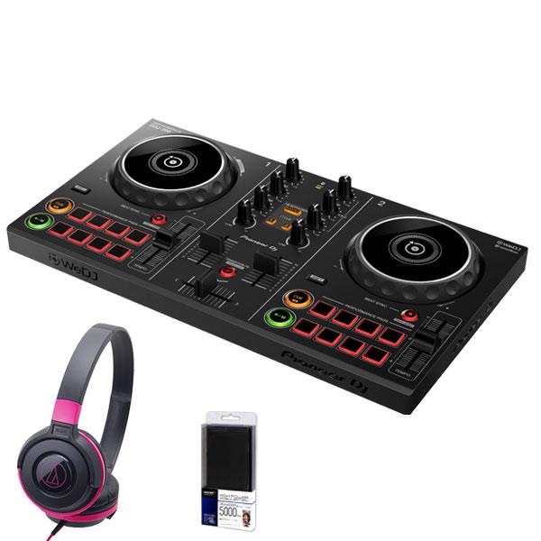 DJ機器, DJコントローラー Pioneer DJ DDJ-200 ATH-S100BPK DJ