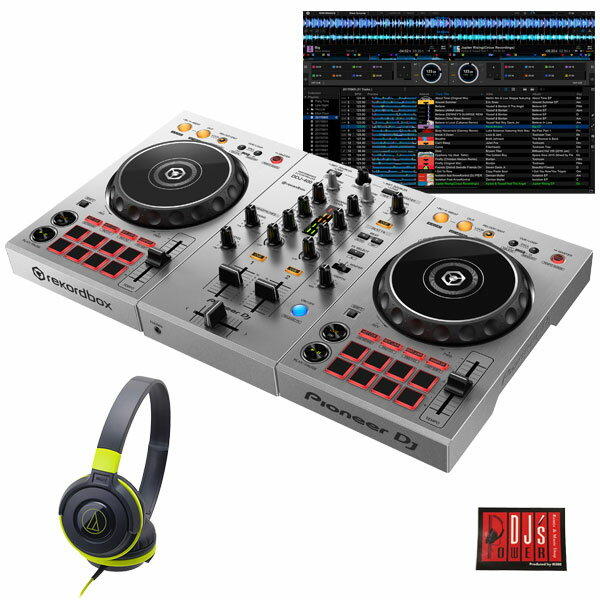 DJ機器, セット Pioneer DJ DDJ-400-S ATH-S100BGR DJrekordbox dj 648263