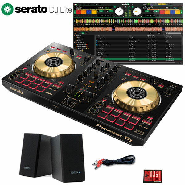 DJ機器, DJコントローラー Pioneer DJ DDJ-SB3-N PM0.1e Serato DJ LiteDJ
