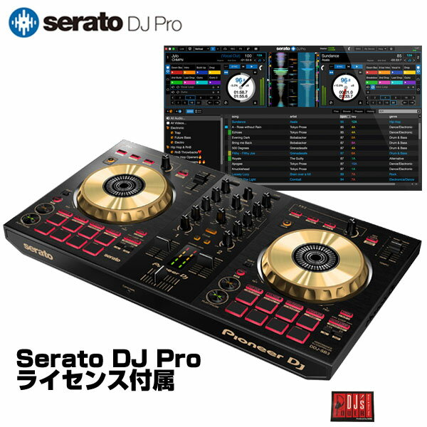 DJ機器, DJコントローラー Pioneer DJ DDJ-SB3-N Serato DJ Pro Serato DJ LiteDJ 648917