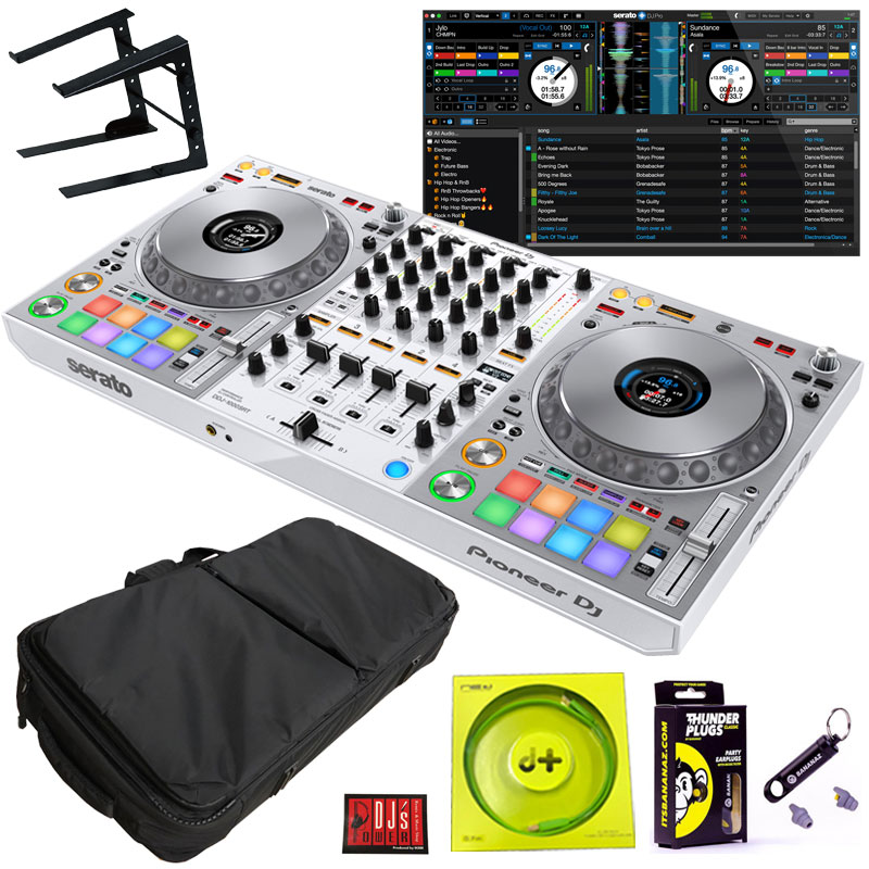 DJ機器, DJコントローラー Pioneer DJ DDJ-1000SRT-W LT100B PCSET4Serato DJ Suite