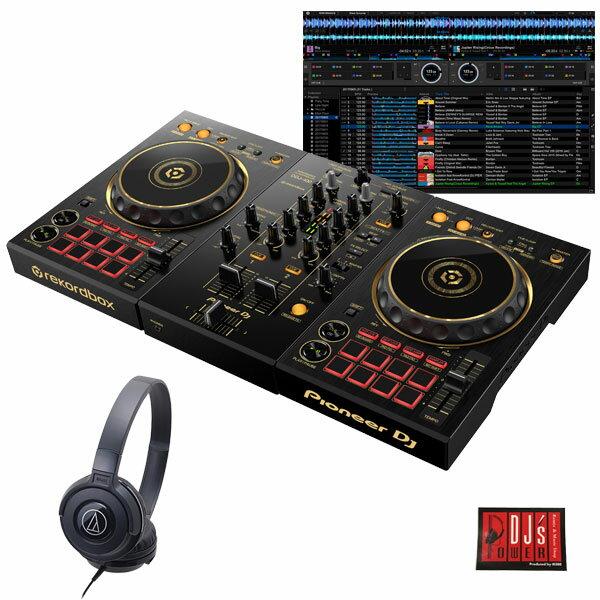 DJ機器, セット Pioneer DJ DDJ-400-N ATH-S100BK DJrekordbox djDJdjay