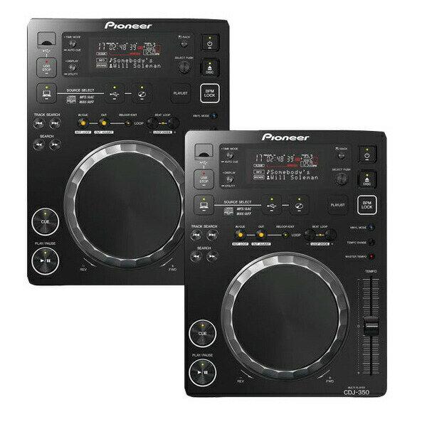 DJ機器, CDJプレイヤー Pioneer DJ CDJ-350 Twin SET 16GBUSB