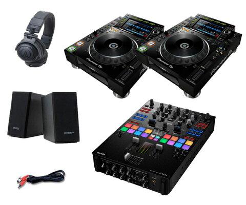 Pioneer DJ CDJ-2000NXS2 + DJM-S9 セット(スピーカー & ヘッドホン付)