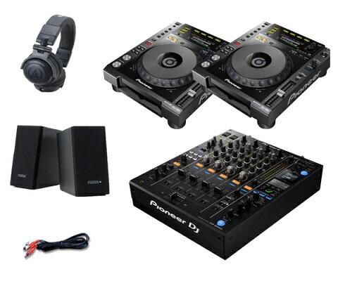 Pioneer DJ CDJ-850 + DJM-900NXS2 セット(スピーカー & ヘッドホン付)