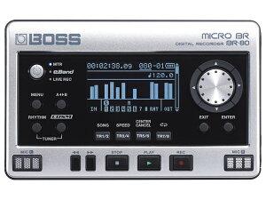 多機能/高品位を実現したデジタル・レコーダー【送料無料】【smtb-u】BOSS MICRO BR BR-80【即...