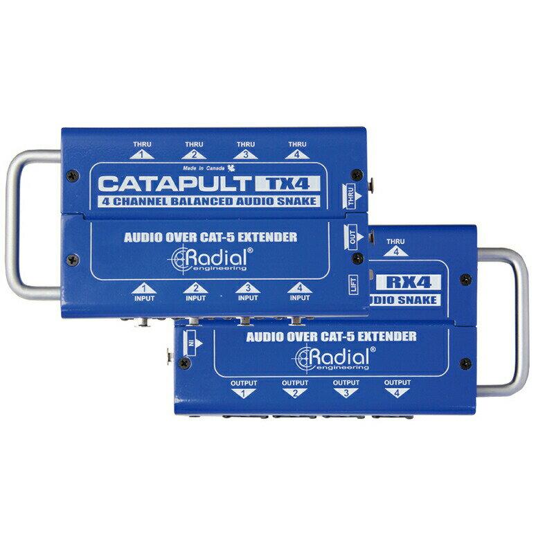 DAW・DTM・レコーダー, その他 Radial Catapult TX4 4ch
