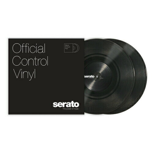 DJ機器, その他 serato 10 Serato Control Vinyl Black 2102