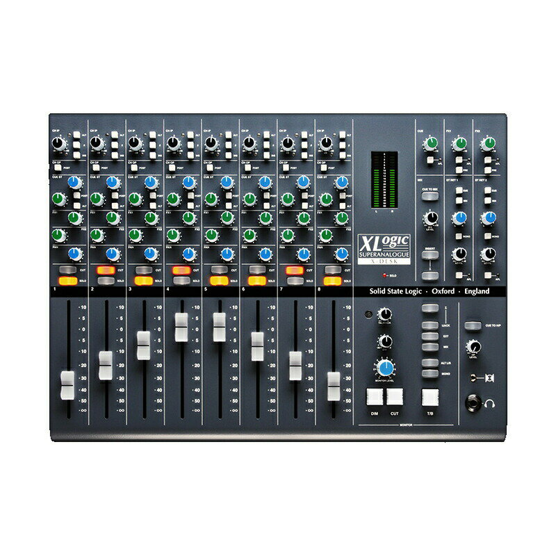 ミキサー, アナログミキサー SSL X-Desk Super Analogue Line Mixer