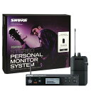 SHURE P3TJR PSM300 SYSTEM, WITHOUT EARPHONES【限定アウトレット特価】