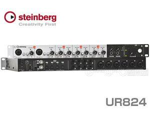 待望のUSB2.0対応スタインバーグ純正オーディオI/OSteinberg UR824【Cubase AI 同梱】【最新フ...