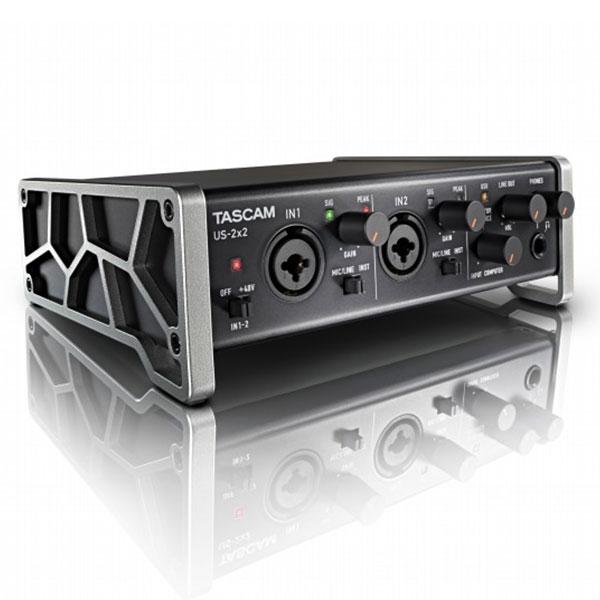 DAW・DTM・レコーダー, オーディオインターフェイス TASCAM US-2x2-CU