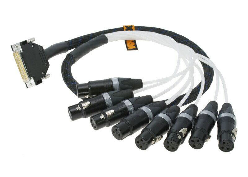 ケーブル, その他 VOVOXMultipair Cable mucolink direct SD 100 cm 8 x XLR (F) - DB25 (6.2203)
