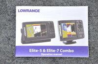 新品■ローランス/LOWRANCE魚群探知機/魚探Elite-5_CHIRP_HDIL-T■日本語モデル/日本語マニュアル付