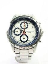 【送料無料】PHERROWS/フェローズクロノグラフクォーツ腕時計【中古】