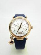 送料無料VivienneWestwood/ヴィヴィアンウエストウッドチャーム付クォーツ腕時計中古