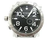 NIXONニクソンクロノグラフクォーツ腕時計中古送料無料