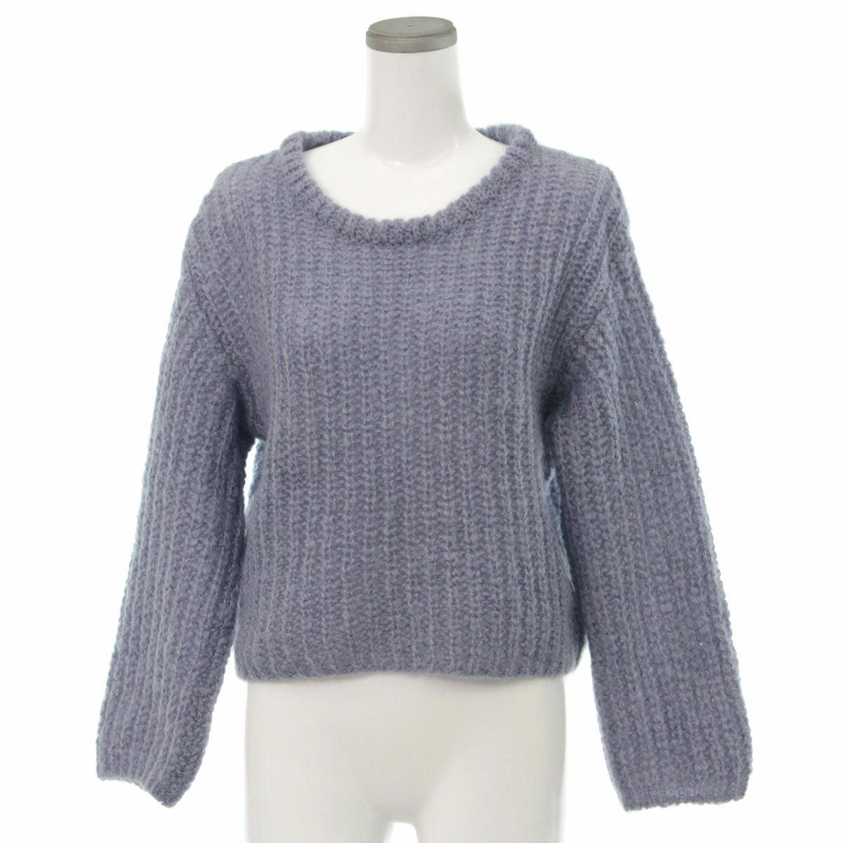 ニット・セーター, セーター agnes b. 2way TU blue 33328-SK0619