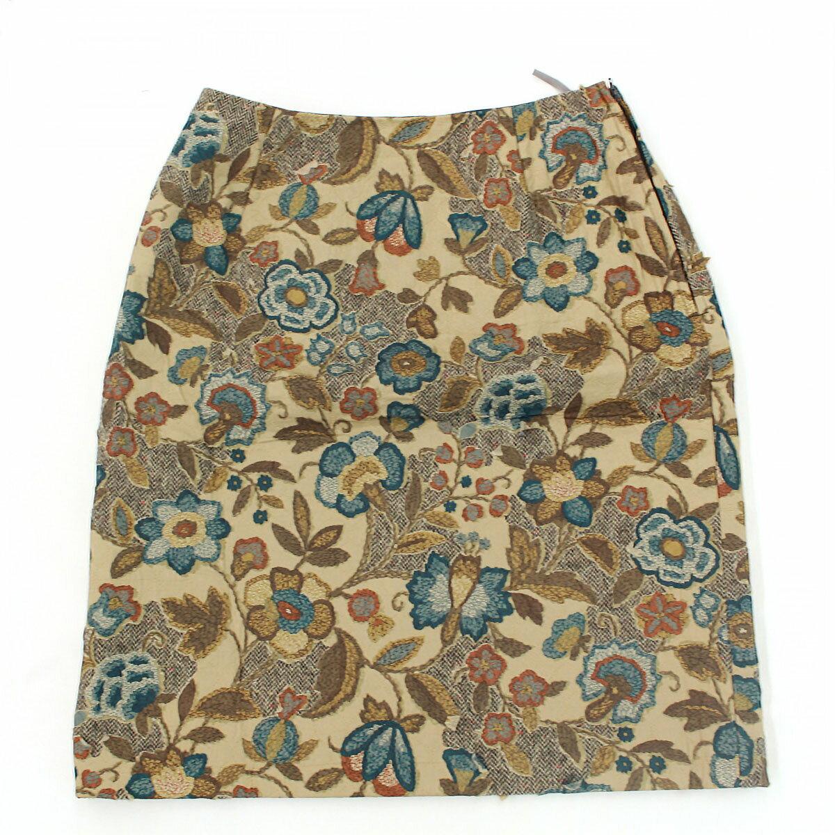 ボトムス, スカート SCAPA 40 brown