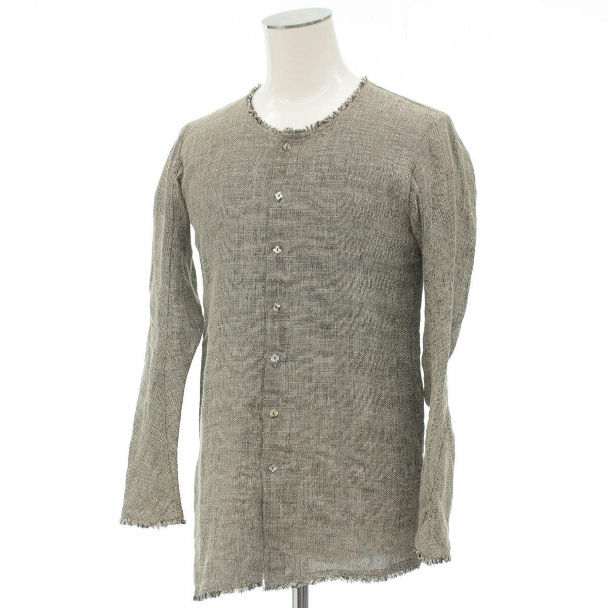 トップス, カジュアルシャツ N07 44 gray