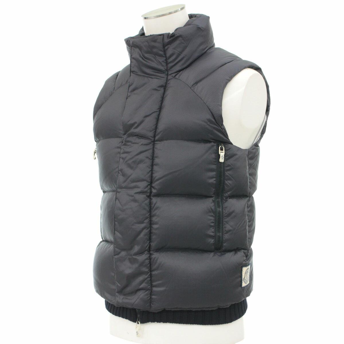 メンズファッション, コート・ジャケット MONCLER 0 navy GILET90