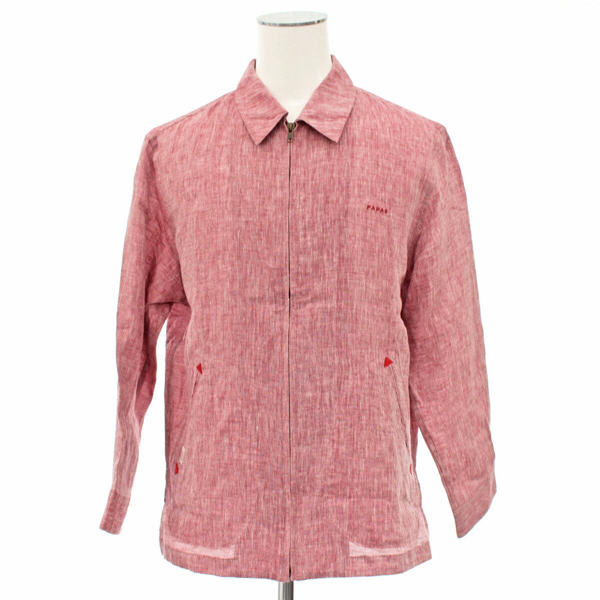 メンズファッション, コート・ジャケット Papas M(48) red 100
