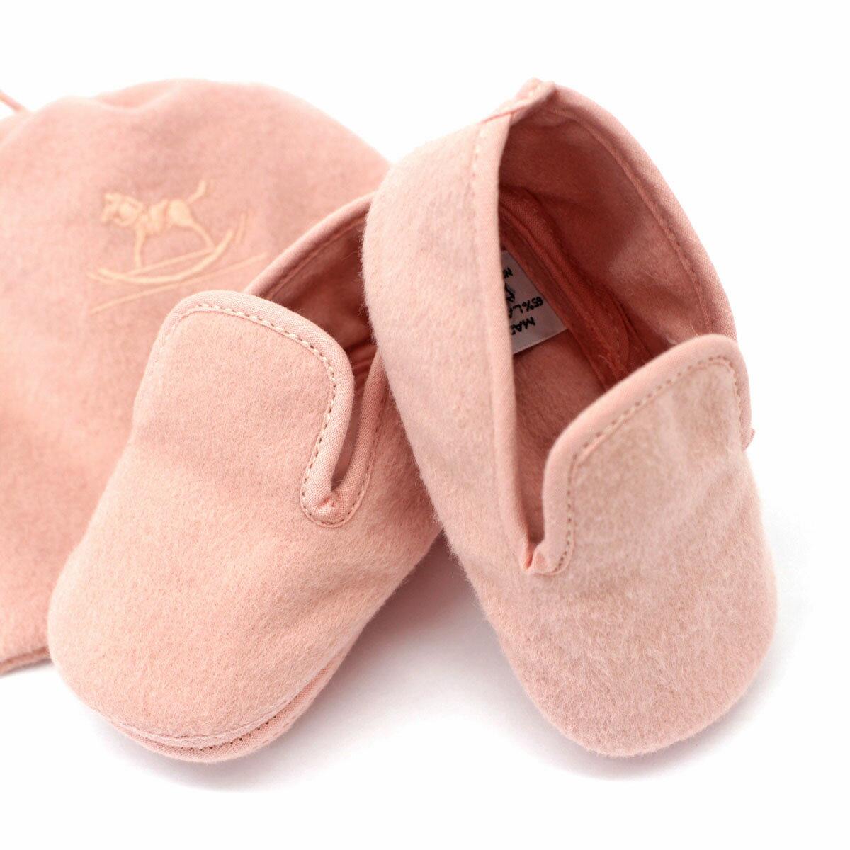 靴, ファーストシューズ HERMES pink