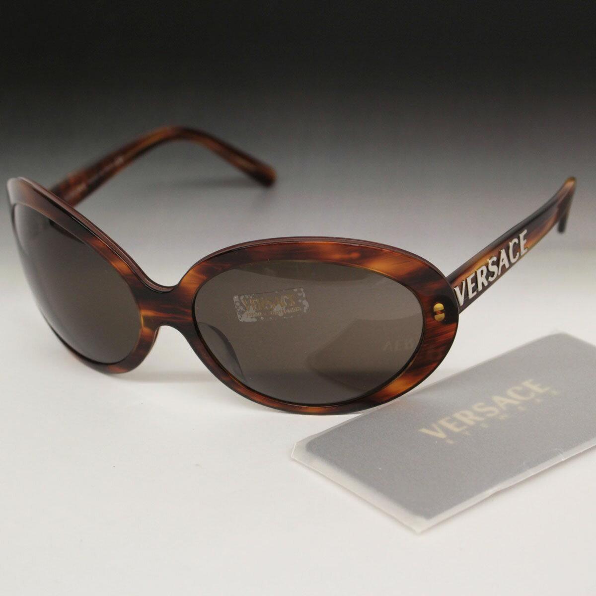 眼鏡・サングラス, サングラス VERSACE MOD.4096 1633 6517-125 brown