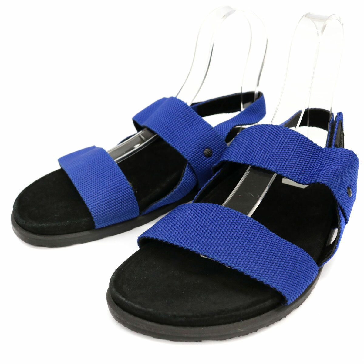 未使用品◆HUNTER ハンター スポーツサンダル サイズUS10M(28相当)◆black/黒/ブラック×ブルー/ナイロン/スポサン/メンズ/シューズ/靴【中古】画像