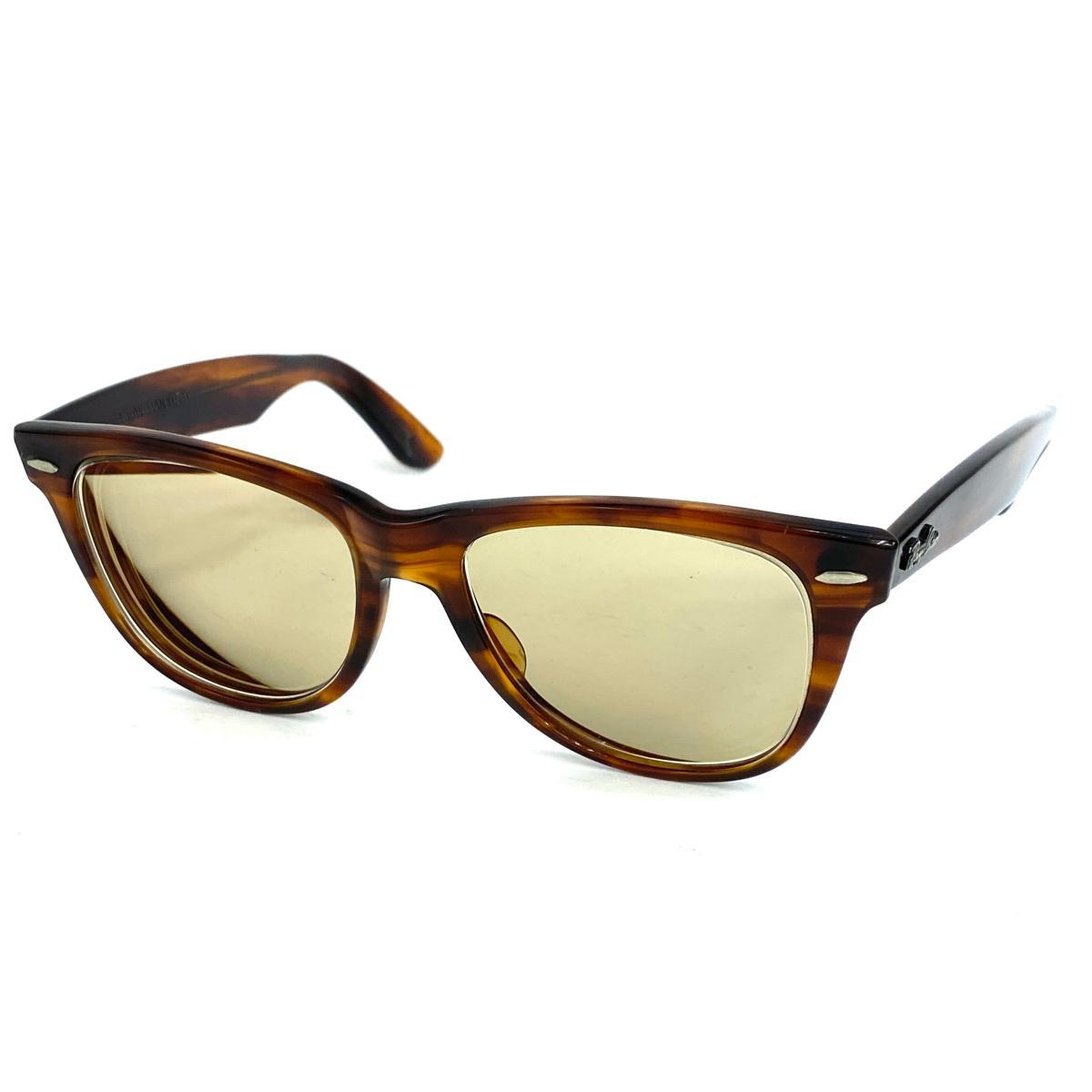 眼鏡・サングラス, サングラス Ray Ban USA brownKI1004