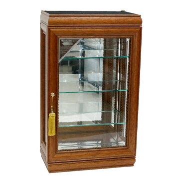 キャビネット ガラス 完成品 イタリア家具 ディスプレイーケース コレクションケース おしゃれ 92120