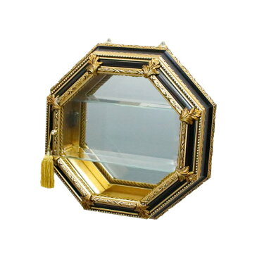 キャビネット ガラス 完成品 イタリア家具 ディスプレイーケース コレクションケース おしゃれ 92154
