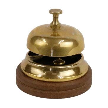 真鍮 ベル 呼び鈴 おしゃれ イタリア製 84425 11×11cm イタリー